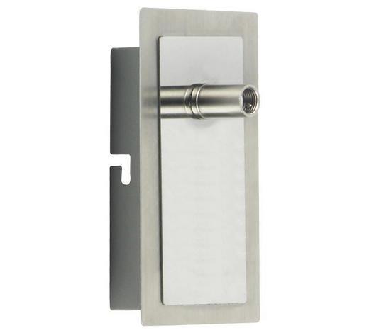 LED-WANDLEUCHTE - Chromfarben, Basics, Metall (7/12cm) - Boxxx