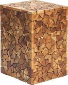 ODKLÁDACÍ STOLEK - barva teak/přírodní barvy, Lifestyle, dřevo/kompozitní dřevo (30/47/30cm) - Landscape