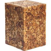 ODKLÁDACÍ STOLEK - barvy teak/přírodní barvy, Lifestyle, dřevo/kompozitní dřevo (30/47/30cm) - Landscape