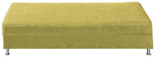 LIEGE Hellgrün - Chromfarben/Hellgrün, KONVENTIONELL, Textil/Metall (200/48/90cm) - NOVEL