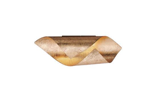 LED-WANDLEUCHTE - Goldfarben, Design, Metall (31/10/10cm)