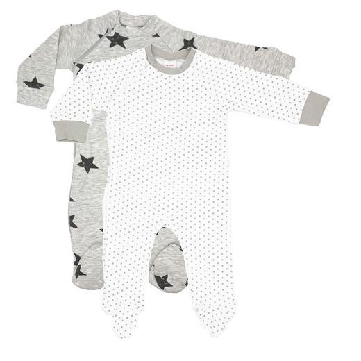 Schlafanzugset 2-tlg. - Anthrazit/Weiß, LIFESTYLE, Textil (56) - My Baby Lou