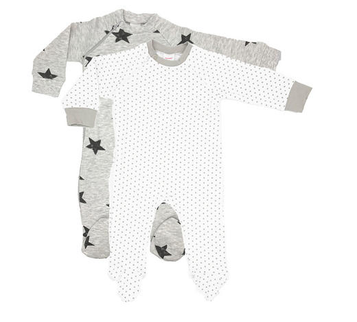 Schlafanzugset 2-tlg. - Anthrazit/Weiß, LIFESTYLE, Textil (56null) - My Baby Lou