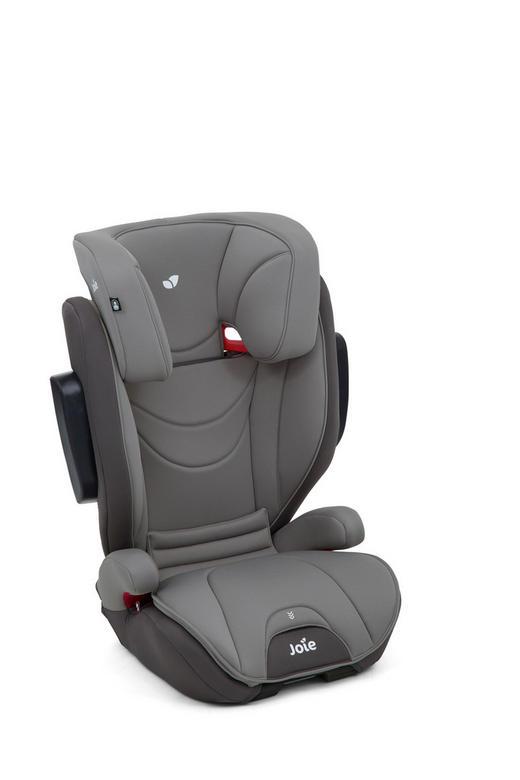 Kinderautositz Traver - Dunkelgrau, Basics, Textil (55,5/70-85,5/41cm) - Joie