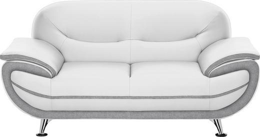 Zweisitzer Sofa In Textil Grau Weiss Online Kaufen Xxxlutz