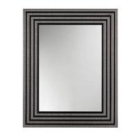 VÄGGSPEGEL - silver/svart, Design, glas/trä (74/59/2cm)