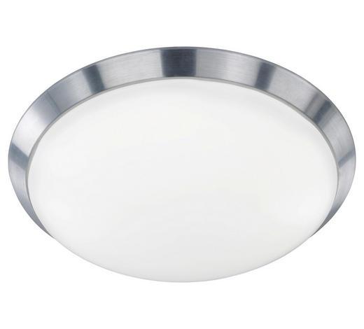 LED-DECKENLEUCHTE - Alufarben, KONVENTIONELL, Kunststoff/Metall (40/10,5cm)