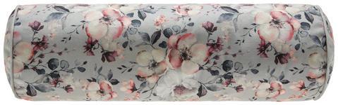 Nackenrolle Rosi - Grau, ROMANTIK / LANDHAUS, Textil (15/45cm) - James Wood