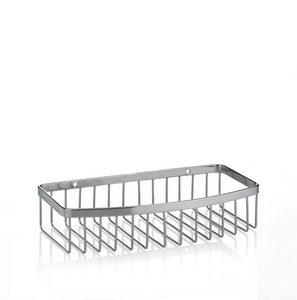 POLICA ZA TUŠ KABINU - Srebrna, Konvencionalno, Metal (23/11/5cm) - Kela