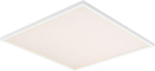 LED-PANEEL - Weiß, Design, Kunststoff/Metall (45/45/4,5cm) - Novel