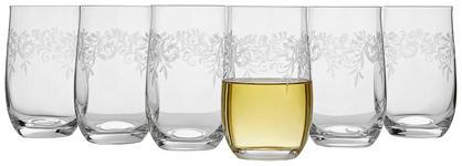 TRINKGLAS-SET 6-teilig  - Klar, Trend, Glas (0,38l) - Novel