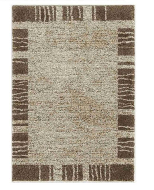 WEBTEPPICH  140/200 cm  Beige, Braun - Beige/Braun, Textil (140/200cm) - NOVEL