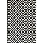 WEBTEPPICH  - Schwarz/Weiß, Basics, Kunststoff/Textil (115/175cm) - Esposa