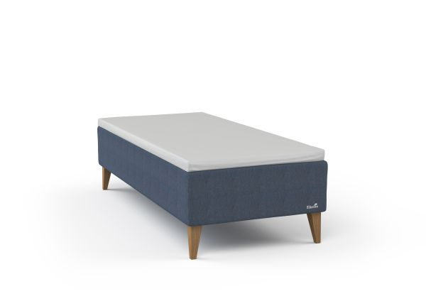 EKENS ESSENS RAMSÄNG - blå/ekfärgad, Klassisk, metall/trä (90/29,5/200cm) - Ekens