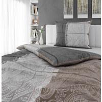 Bettwäsche 160/210 cm  - Silberfarben, Design, Textil (160/210cm) - Esposa