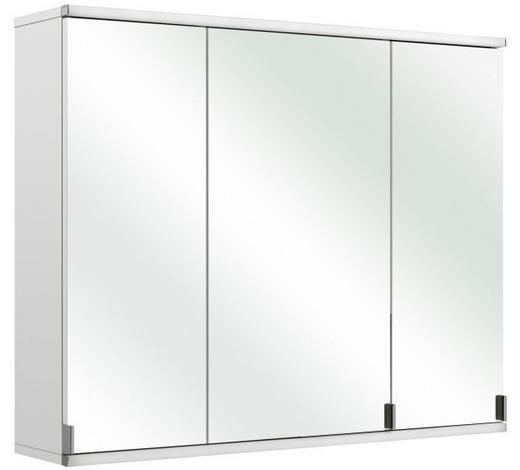 SPIEGELSCHRANK 90/73/20 cm  - Weiß, Design, Glas/Holzwerkstoff (90/73/20cm) - Xora
