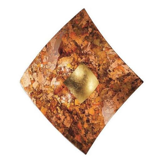 WANDLEUCHTE - Goldfarben, LIFESTYLE, Metall (18/18/6cm)