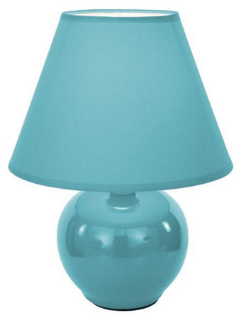 NAMIZNA SVETILKA C30444LS - modra, Basics, tekstil/keramika (18/18/23cm) - Boxxx