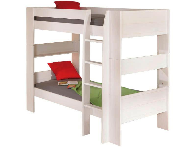 Etagenbett Landhaus : Bett hochbett michelle ii etagenbett weiß kinderbett landhaus