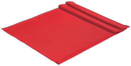 TISCHDECKE Textil Rot 135/170 cm - Rot, Basics, Textil (135/170cm)
