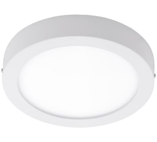 LED-DECKENLEUCHTE - Weiß, Basics, Kunststoff/Metall (30/4cm)