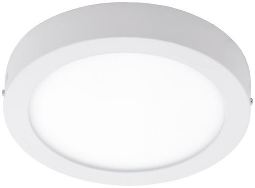 LED-DECKENLEUCHTE - Weiß, Design, Kunststoff/Metall (30/4cm)