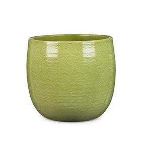 YTTERKRUKA - grön, Klassisk, keramik (28/28/26cm)