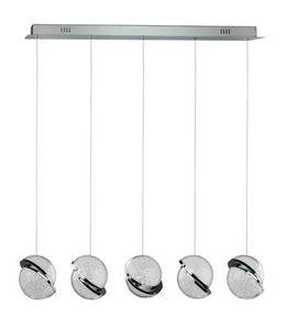 LED VISILICA - Prozirna, Konvencionalno, Plastika/Metal (85/11/120cm) - Ambiente