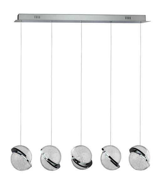 LED-HÄNGELEUCHTE - Klar, KONVENTIONELL, Kunststoff/Metall (85/11/120cm) - Ambiente