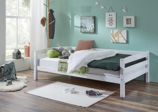 KINDER-/JUNIORBETT - Weiß, Design, Holz (120/200cm)