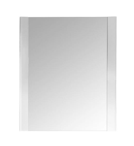 WANDSPIEGEL Weiß - Weiß, Basics, Glas/Holzwerkstoff (74/93cm) - CARRYHOME