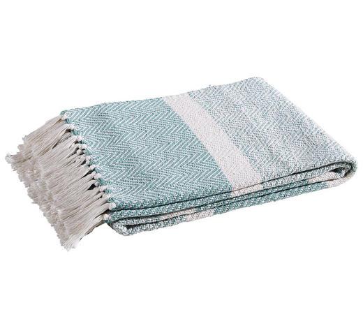 KUSCHELDECKE Mintgrün - Mintgrün, LIFESTYLE, Textil (150/125cm)