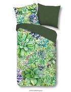 BETTWÄSCHE Renforcé Grün 135/200 cm - Grün, Trend, Textil (135/200cm)