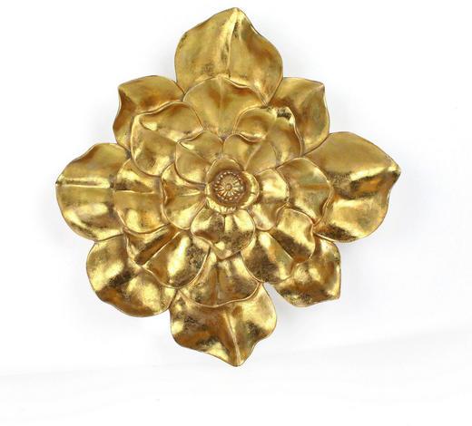 WANDDEKO Kunststoff  - Goldfarben, LIFESTYLE, Kunststoff (32/6cm) - Ambia Home