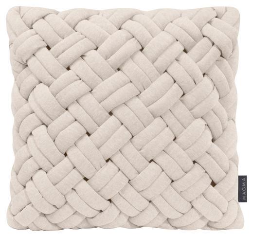 KISSENHÜLLE Beige - Beige, Textil (40/40cm)