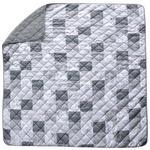 Tagesdecke Palina - Schwarz/Weiß, ROMANTIK / LANDHAUS, Textil (220/240cm) - James Wood