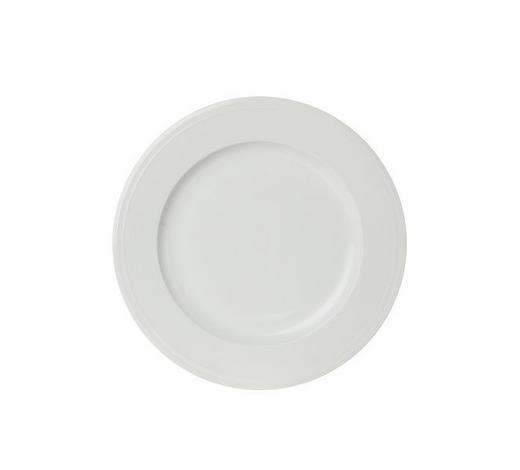 TALÍŘ JÍDELNÍ, porcelán - bílá, Design, keramika (28,1cm) - Novel