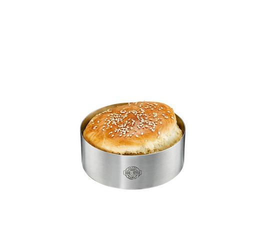 Burger-Ring - Edelstahlfarben, KONVENTIONELL, Metall (10,8/4cm) - Gefu