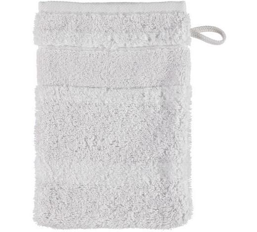 WASCHHANDSCHUH  Silberfarben   - Silberfarben, Textil (16/22cm) - Cawoe