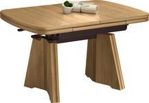 COUCHTISCH in Holzwerkstoff, Metall 90-131/65/56-75 cm - Buchefarben, KONVENTIONELL, Holzwerkstoff/Metall (90-131/65/56-75cm) - Venda