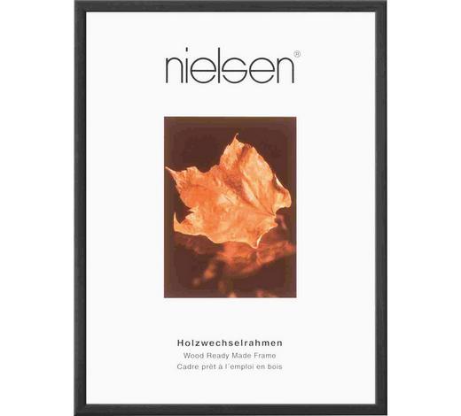 BILDERRAHMEN in Schwarz - Schwarz, Basics, Holz (21/29,7cm) - Nielsen