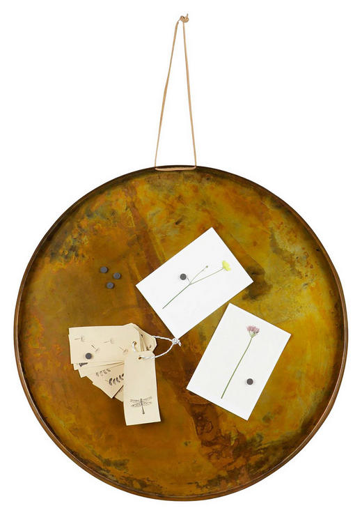 MAGNETTAFEL - Kupferfarben, Design, Metall (50cm) - Ambia Home