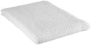 ÜBERWURF 130/170 cm  - Weiß, KONVENTIONELL, Textil (130/170cm) - Landscape