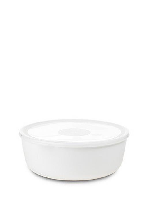 SCHALE Kunststoff - Weiß, Basics, Kunststoff (2l) - Mepal Rosti