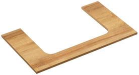 WASCHTISCH-ABDECKPLATTE 73/1,6/45 cm  - Eichefarben, LIFESTYLE, Holzwerkstoff (73/1,6/45cm) - Xora