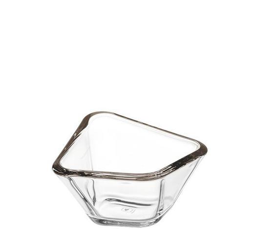 SCHALE - Grau, Design, Glas (13,20/7,30/13,20cm) - Leonardo