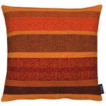 KISSENHÜLLE Braun, Multicolor, Orange  - Multicolor/Braun, LIFESTYLE, Textil (46/46cm) - Ambiente