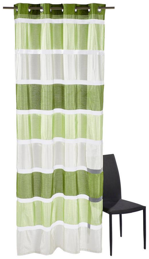 ÖSENSCHAL   140/245 cm - Grün, Basics, Textil (140/245cm) - Esposa