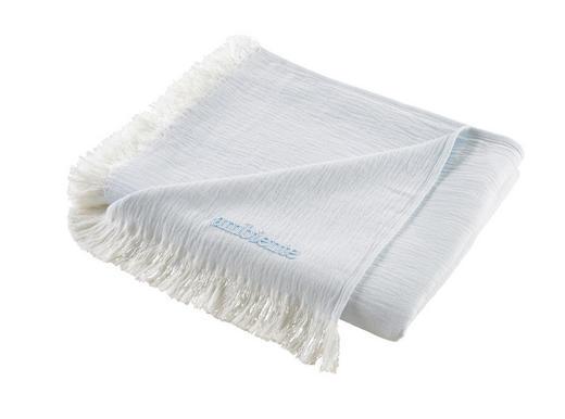 DEKA - bílá/modrá, Konvenční, textilie (130/170cm) - Ambiente
