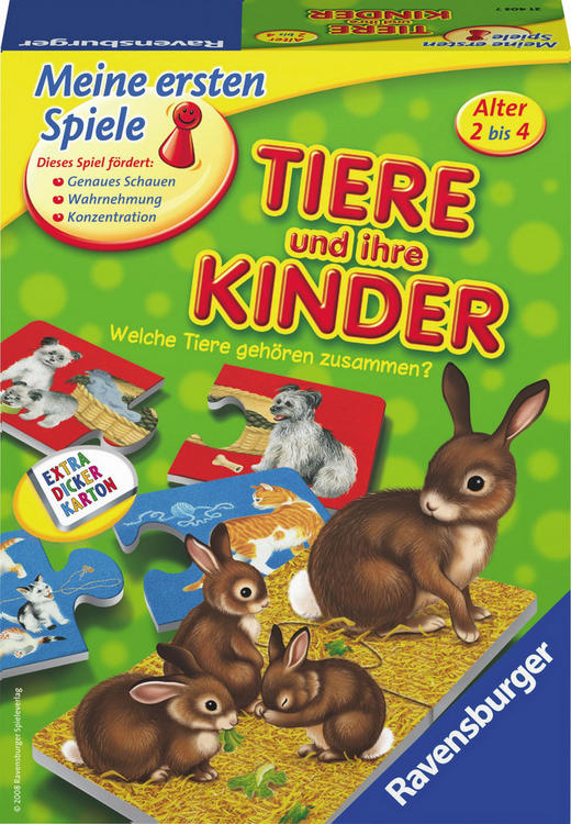 LERNSPIEL - Multicolor, Basics, Karton (23,1/16,7/5,5cm) - Ravensburger